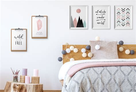 24 diy bedroom decor ideas to inspire you with printables