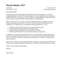 Assistant Speech Therapist Cover Letter by Leading Professional Speech Language Pathologist Cover