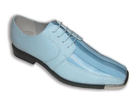 s metal tip satin dress shoes sky blue dress shoes