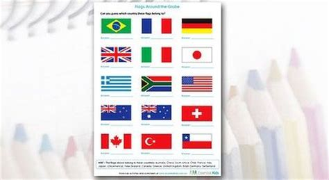 flags of the world ks2 introduce children to geography with this fun and