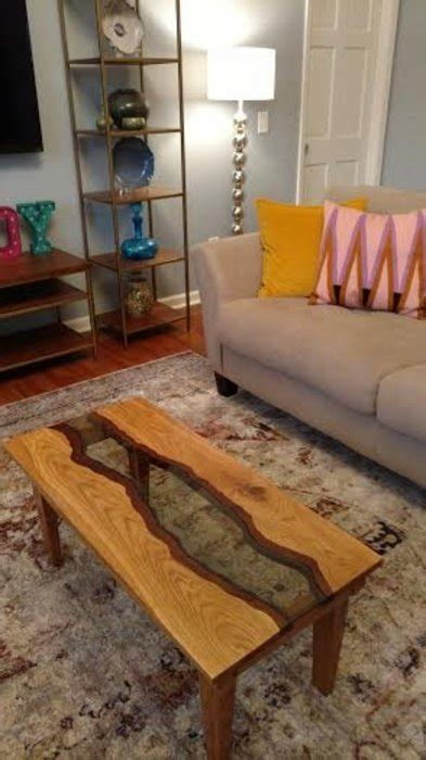 river coffee table river coffee table by tennessee lumberjocks com