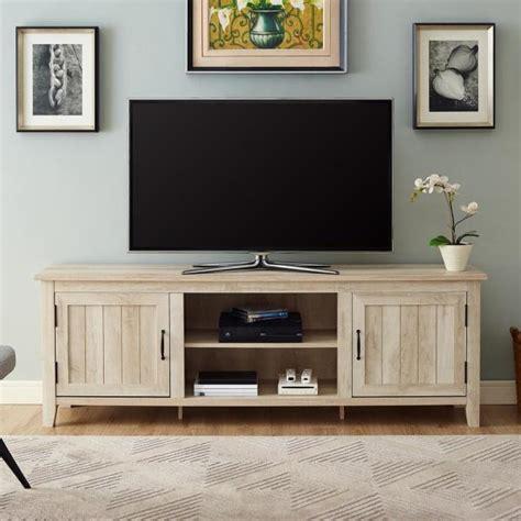 walker edison  modern farmhouse entertainment center tv