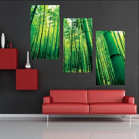 modern wall mural bamboo mural decal view wall decal murals primedecals