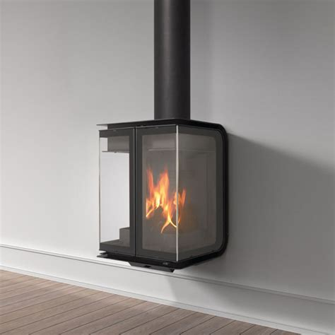rocal oban wall mounted wood burning stove contemporary
