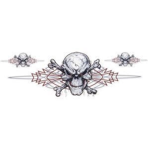 Pinstripe Aufkleber Kaufen by Lethal Threat Aufkleber Pinstripe Skull St 252 Ck Kaufen