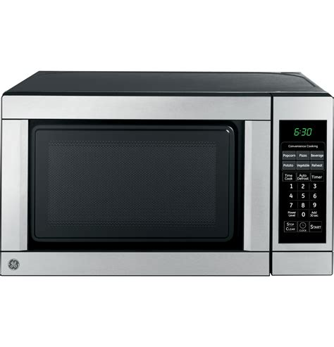 Ge Monogram Countertop Microwave by Jes0736smss Ge 174 7 Cu Ft Capacity Countertop Microwave