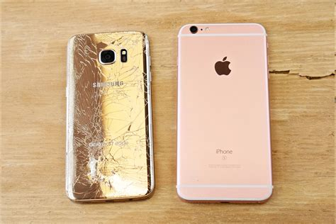 Hp Samsung S7 Edge Plus samsung galaxy s7 edge vs iphone 6s plus drop test