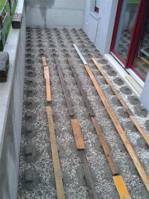 Wpc Dielen Verlegen Auf Beton 4201 by Terrasse Bauen Unterbau 100 Images Holzterrasse