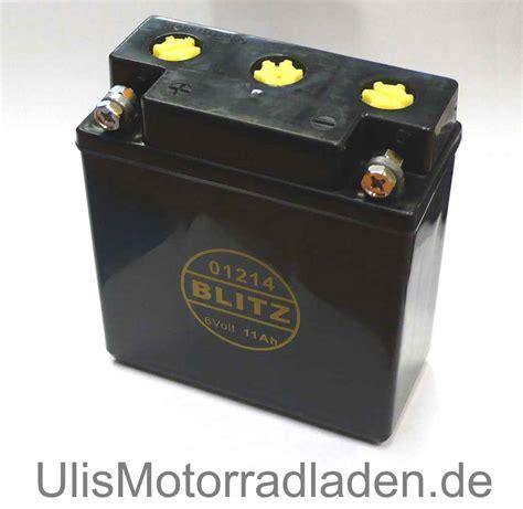 Motorrad Batterie Bef Llen Und Laden by Batterie 6v F 252 R Bmw R26 Und R27