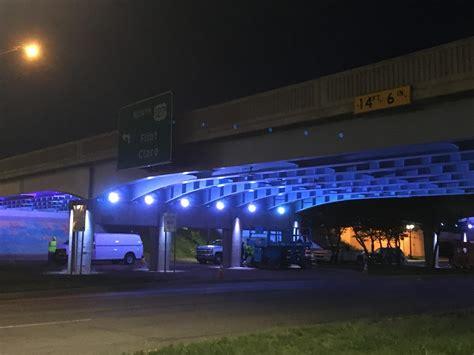 Progress For Quot Under The Bridge Quot Project Wkar Michigan Avenue Lights