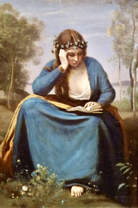 la lettrice di fiori i ritratti di corot un nostalgico omaggio alla modernit 224