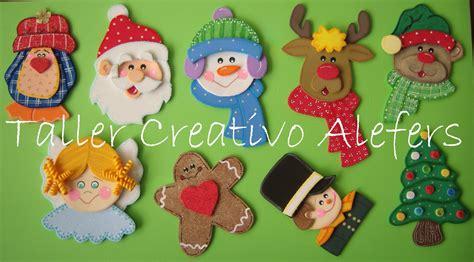 imagenes animadas de navidad en foami alefers taller creativo noviembre 2011