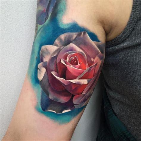 3d roses tattoos realistic 3d realistic