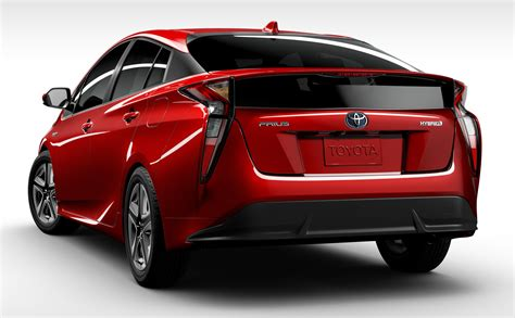 Toyota Hybrid Prius Fuel Consumption 2016 Toyota Prius Officially Unveiled 4th Hybrid
