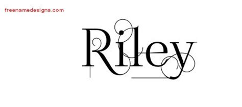riley name tattoo design decorated name designs free free name designs