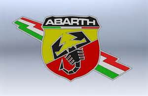 Abarth Logo Abarth Logo Stl Solidworks 3d Cad Model Grabcad
