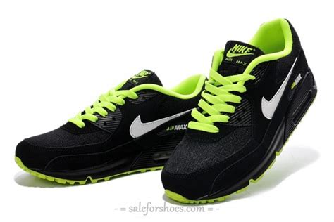 black and neon green nike shoes nike shoes lime green and black half moon