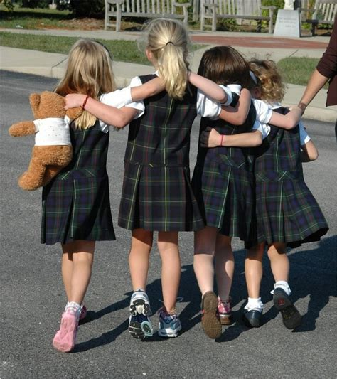 catholic schoolgirl uniform attending a catholic grade school meant wearing a uniform
