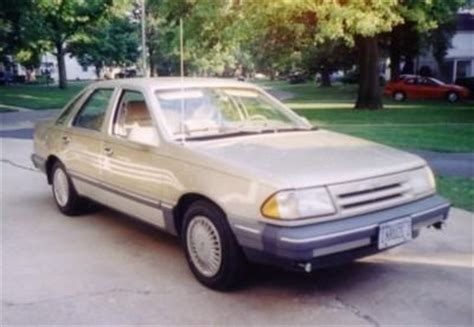 1984 ford tempo overview cargurus 1987 ford tempo overview cargurus