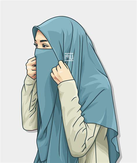 anime wallpaper hijab kartun keren dokumen paud tk sd smp