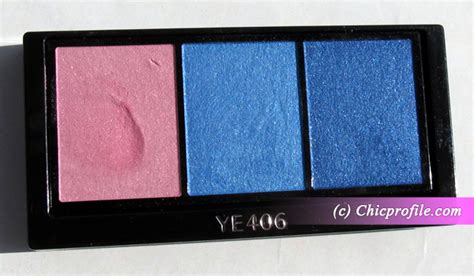 Shiseido Color Shoo shiseido luminizing satin eye color trio in punky blues