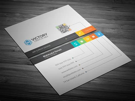 template para tarjetas bussines card free i creative business card on behance
