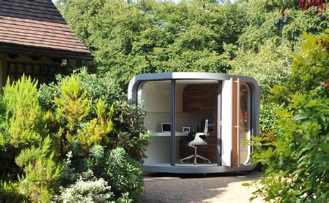 small home office in your backyard officepod freshome