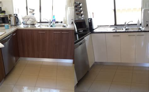 Kitchen Resurfacing by Before After Kitchen Resurfacing Kitchen Resurfacing