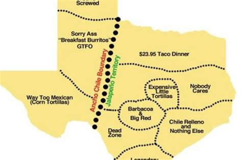 geography map of texas this map shows the taco geography of texas
