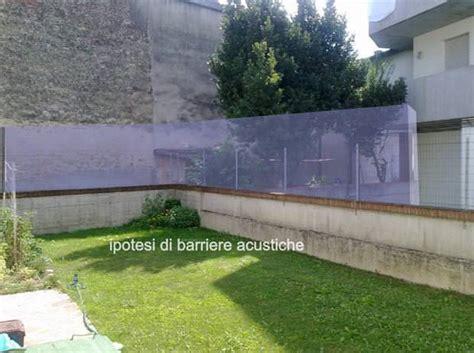 barriere antirumore giardino pannelli isolamento acustico esterno pannelli termoisolanti