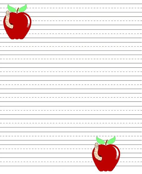 printable lined handwriting paper 1st grade pin by christina maria on march pinterest