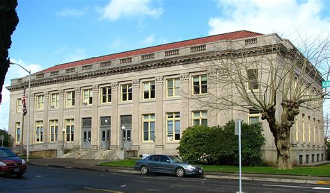 Oregon Post Office by United States Post Office Astoria Oregon