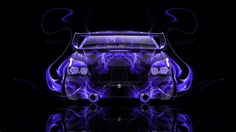 subaru fire subaru impreza wrx sti jdm back fire abstract car 2014