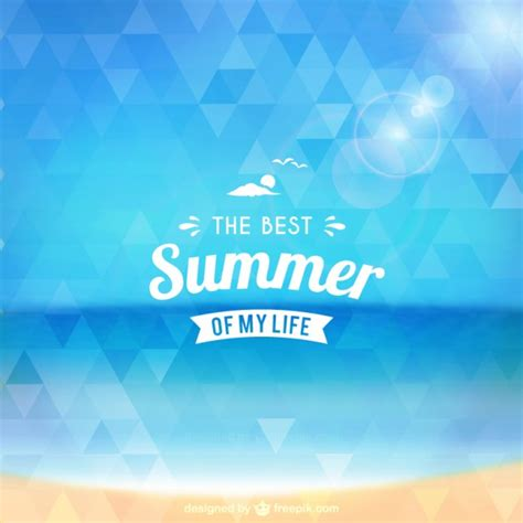 the best of my summer vectors photos and psd files free