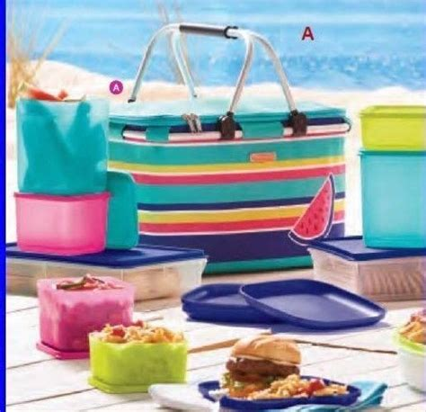 Tupperware Picnic Set tupperware snack shop collectibles daily
