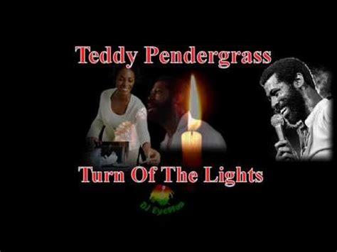 turn off the lights youtube teddy pendergrass turn off the lights youtube