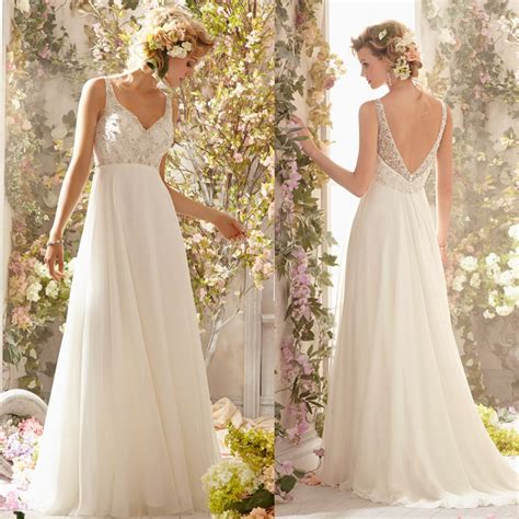 beaded backless wedding dress new arrival heavy beaded bodice backless flowy bridal gown