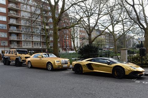 gold cars saudi tourist s gold cars slapped with parking fines in