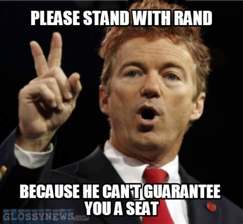 Rand Paul Memes - rand paul black lgbt folks just try another bus