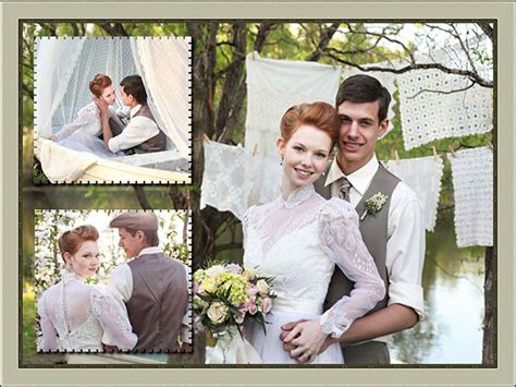 wedding collage template wedding photo album design creative and stylish