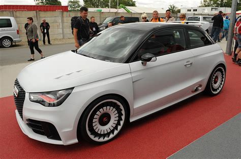 Audi A1 Club Sport by Audi A1 Clubsport Quattro At Le Mans Photo Gallery Autoblog