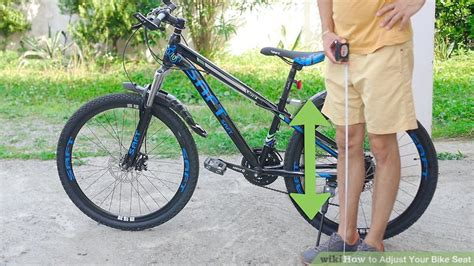 mountain bike seat height adjustment how to adjust your bike seat 12 steps with pictures