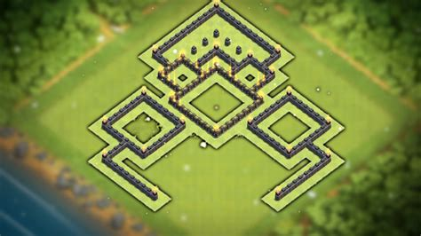 layout coc copy easy to copy quot unstoppable quot town hall 7 defense layout th7