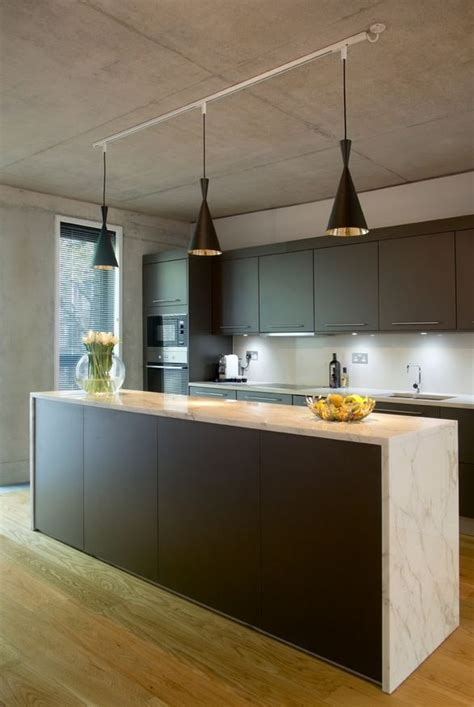 Pendant Track Lighting For Kitchen | an easy kitchen update with pendant track lights home