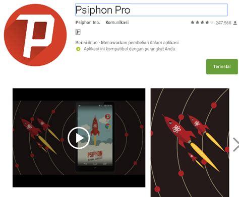 seting psiphone pro telkomsel 2018 settingan psiphon pro telkomsel ulasan secara lengkap