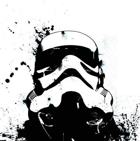 Helm Polygon Graffito White stormtrooper stencil kettlebell painting ideas stencil graffiti tutorials and fans