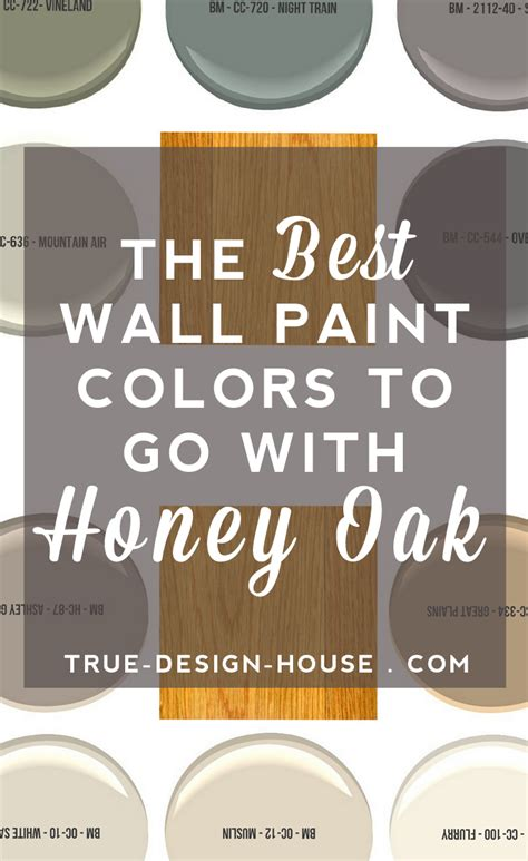 the best paint the best wall paint colors to go with honey oak true