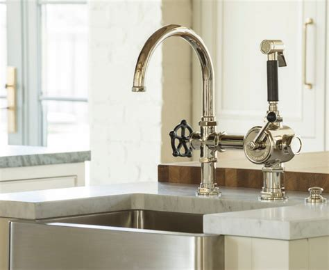 farmhouse faucet kitchen family home with timeless interiors home bunch interior