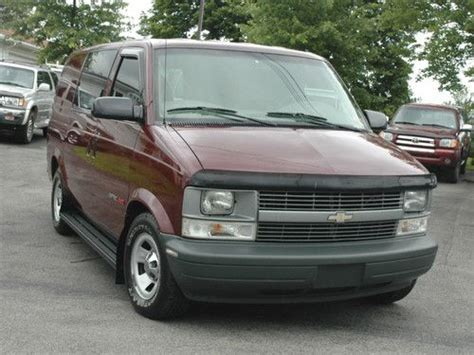 auto air conditioning repair 2002 chevrolet astro electronic valve timing sell used 2002 chevy astro mini van one owner awd in butler pennsylvania united states