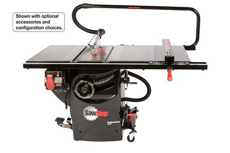 sawstop professional cabinet saw 1 75 hp sawstop pcs175 pfa30 1 75 hp professional cabinet saw